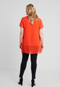 Evans - SPLIT FRONT - Bluse - orange - 2