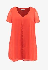 Evans - SPLIT FRONT - Bluse - orange - 3