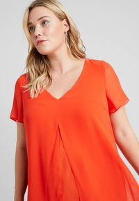 Evans - SPLIT FRONT - Bluse - orange - 4