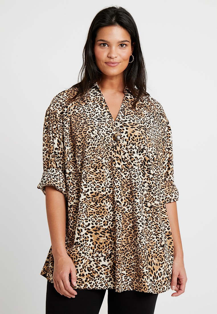Evans - FIRGATE TOP - Bluse - brown