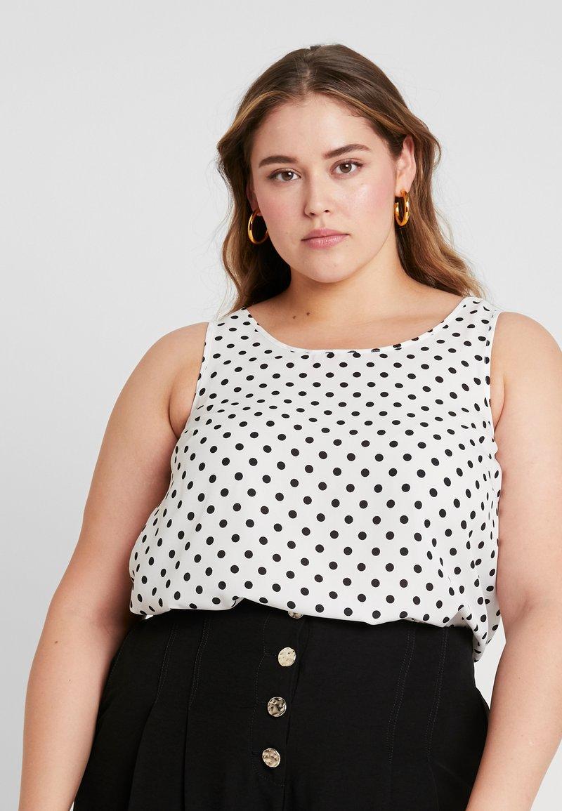 Evans - SPOT SPUN  - Bluse - black/white