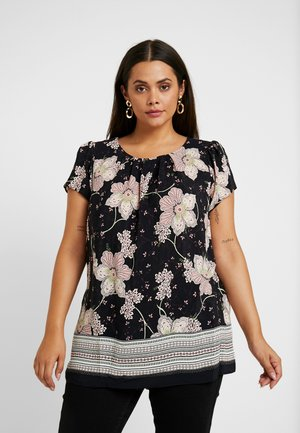 FLORAL BORDER SHELL - Blouse - multi