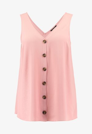 BUTTON THROUGH CAMI - Blouse - pink