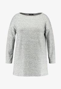 Evans - SLASH NECK - T-shirt à manches longues - grey - 4
