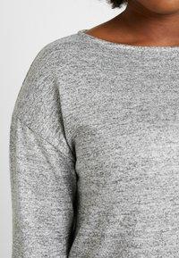 Evans - SLASH NECK - T-shirt à manches longues - grey - 5