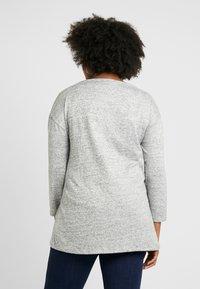 Evans - SLASH NECK - T-shirt à manches longues - grey - 2