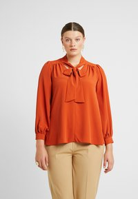Evans - PUSSYBOW - Blouse - rust - 0