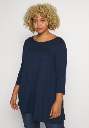 3/4 SLEEVE SWING - Topper langermet - navy