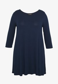 Evans - 3/4 SLEEVE SWING - Long sleeved top - navy - 3