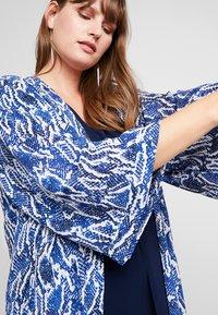 Evans - SNAKE KIMONO - Summer jacket - blue - 4