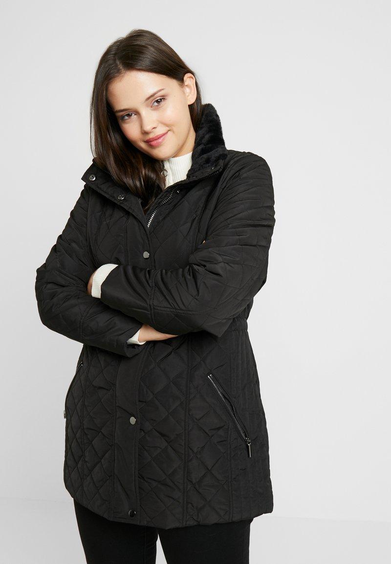 Evans - QUILTED JACKET - Light jacket - black