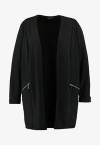 Evans - ZIP DETAIL - Krátký kabát - black - 4