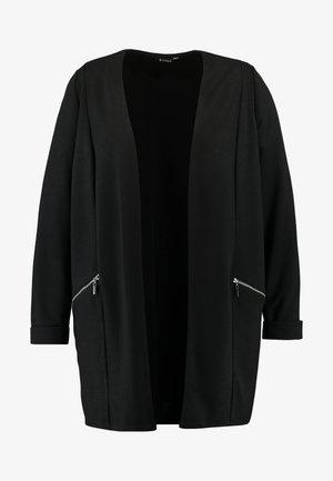 ZIP DETAIL - Kort kåpe / frakk - black