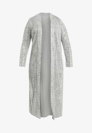 SPARKLE KIMONO - Lehká bunda - silver