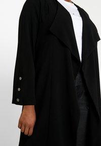 Evans - LONG LINE - Abrigo corto - black - 5