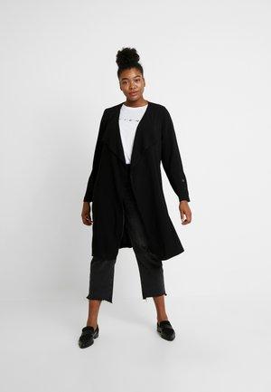 LONG LINE - Manteau court - black