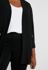 Evans - BUTTON POCKET  - Blazer - black