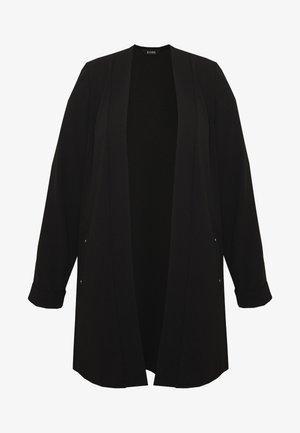 STUD POCKET JACKET - Short coat - black