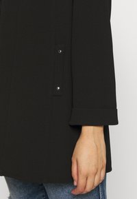 Evans - STUD POCKET JACKET - Short coat - black - 5