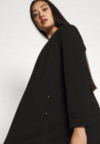 Evans - STUD POCKET JACKET - Short coat - black - 3