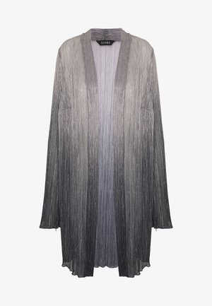 OMBRE PLEATED - Bomber Jacket - grey