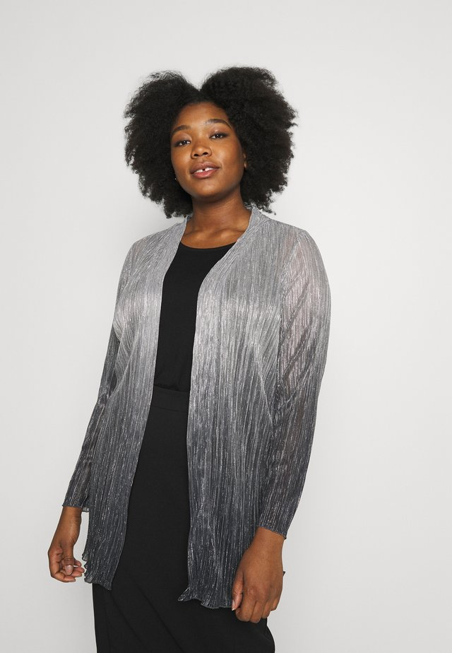 OMBRE PLEATED - Bomber bunda - grey