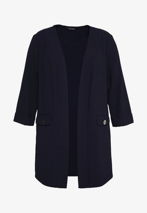 BUTTON DETAIL JACKET - Blazer - navy