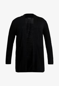 Evans - LONG STITCH CARDI - Cardigan - black - 3