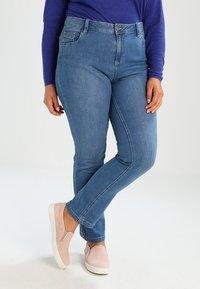 Evans - Jeans a sigaretta - blue - 0