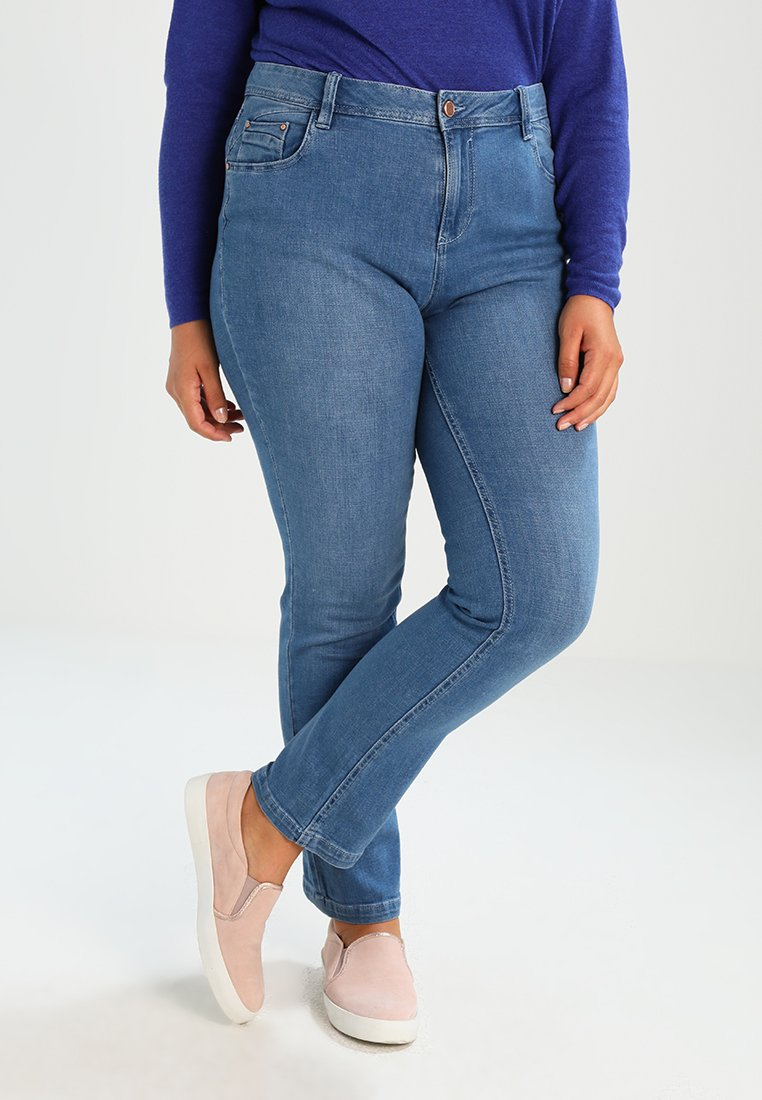 Evans - Jeans a sigaretta - blue
