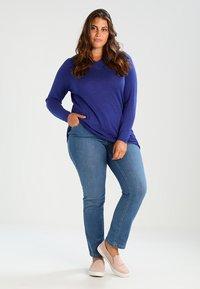 Evans - Jeans a sigaretta - blue - 1