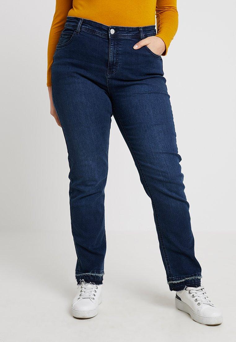 Evans - DETAIL - Jeans Skinny Fit - blue