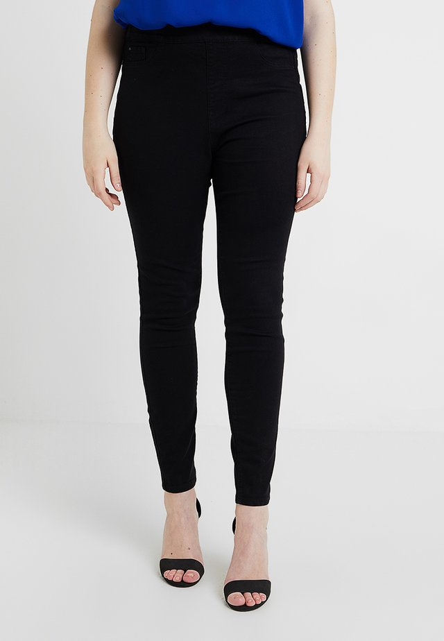 JEGGINGS - Džegíny - black
