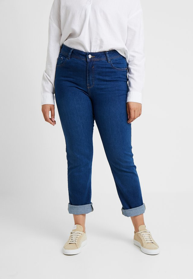 Jeans Straight Leg - mid wash
