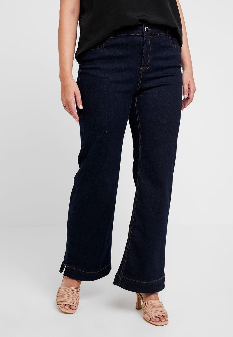 Evans - WIDELEG - Flared Jeans - indigo