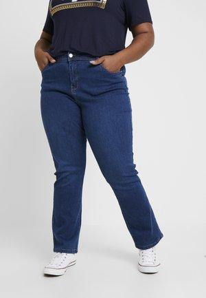 Straight leg jeans - midwash