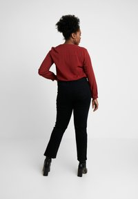 Evans - Jeans straight leg - black - 2
