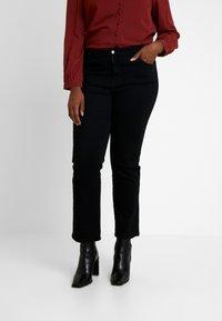 Evans - Jeans straight leg - black - 0