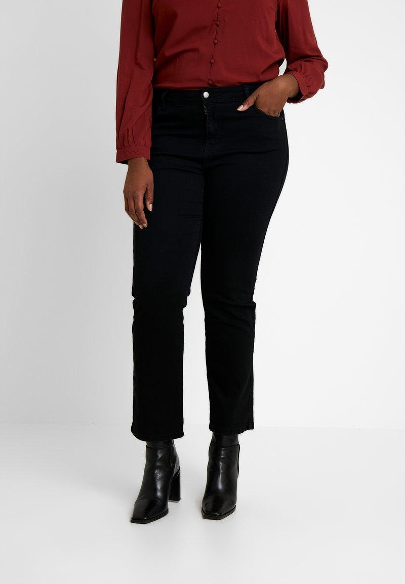 Evans - Jeans straight leg - black