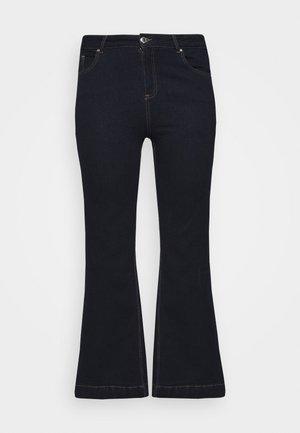 WIDELEG - Jeans bootcut - indigo