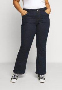 Evans - REGULAR BOOTCUT - Jeans bootcut - indigo - 0