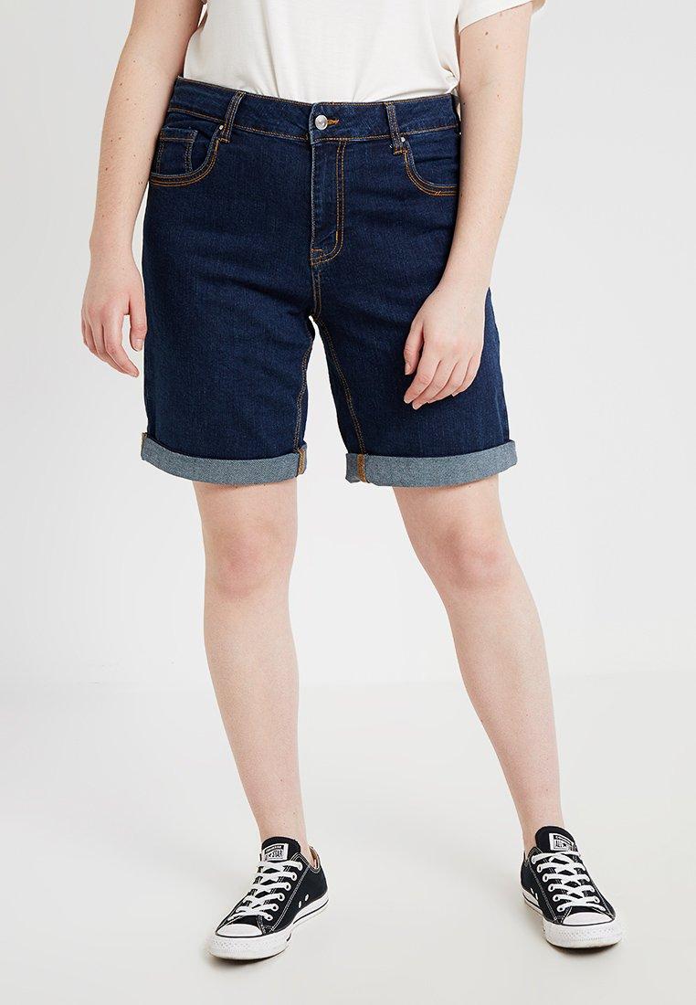 Evans - Denim shorts - indigo