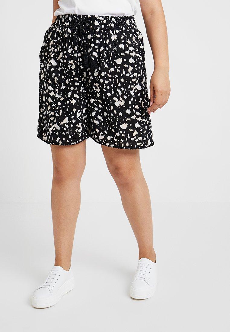 Evans - MIXED PRINT - Shorts - black