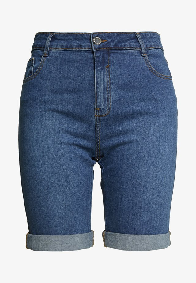 MIDWASH SHORT - Jeansshorts - midwash