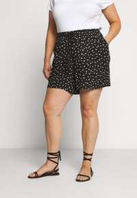 Evans - MONO PRINT PULL ON - Short - black/white - 0