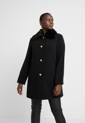 COLLAR COAT - Kåpe / frakk - black