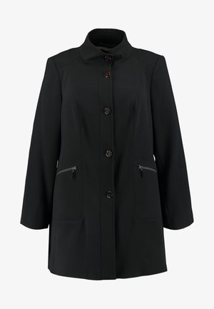 DOUBLE FUNNEL - Płaszcz wełniany /Płaszcz klasyczny - black