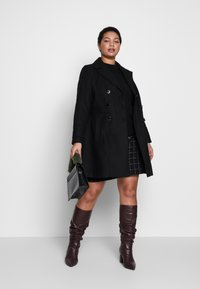 Evans - MILITARY COAT - Short coat - black - 1