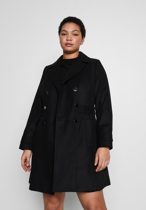 MILITARY COAT - Abrigo corto - black