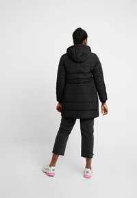 Evans - TAB SIDE PADDED COAT - Manteau court - black - 2